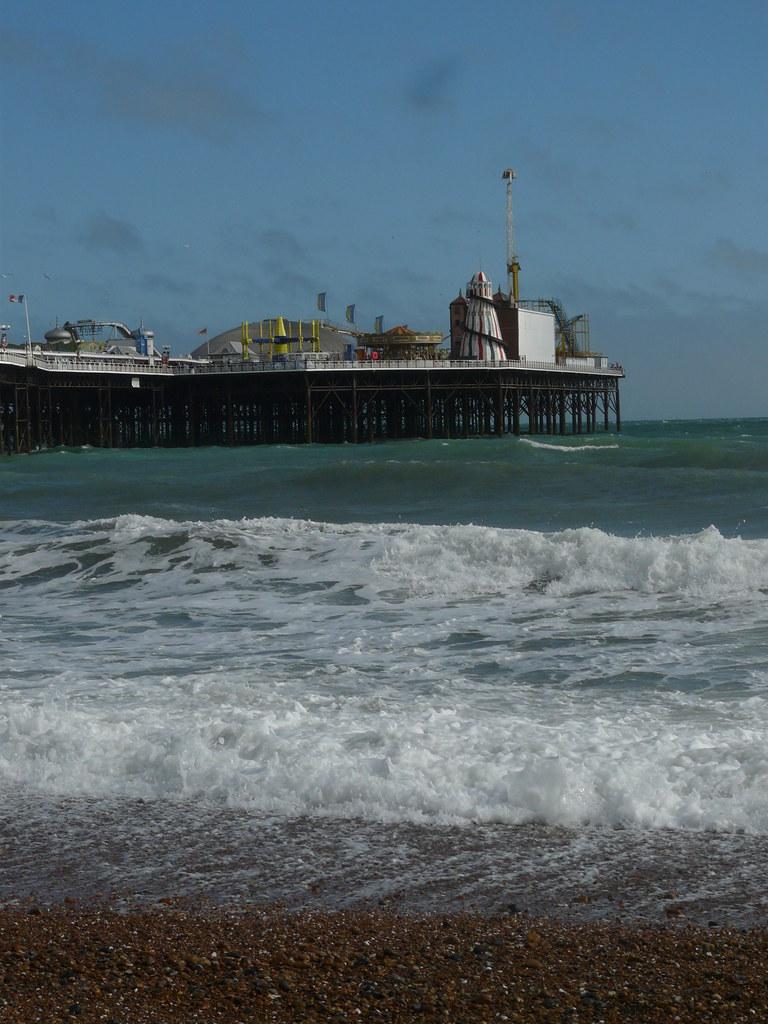 Brighton Pier From the Beach
