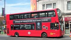 London General WVN15  Wimbledon station 08/07/17. (Ledlon89) Tags: london bus bsues tfl transport londonbus londonbuses goaheadlondon londongeneral wimbledon tennis londontransport
