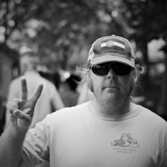 John (michael.veltman) Tags: john tennessee chicago illinois peace sign project
