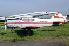 CCCP-44422 Yakovlev Yak-18T Aeroflot (pslg05896) Tags: ulv uwll ulyanovsk baratayevka russia cccp44422 yakovlev yak18 aeroflot