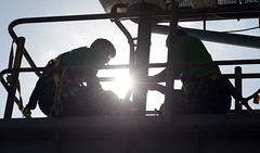 170621-N-JC445-046 (CNE CNA C6F) Tags: ghwb deployment cvn77 aircraftcarrier usnavy ic interiorcommunicationselectrician andresmunoz mariogranados ussgeorgehwbush mediterraneansea usa