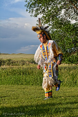 Dance (RootsRunDeep) Tags: nativeamerican indian windriver feathers costume beads wyoming taranch demonstration ceremonial