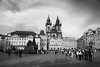 Old Town Square (zappy_lunch) Tags: prague czechrepublic cz nikon d7100 may 2017 spring praha city urban staroměstskénáměstí oldtownsquare chrámmatkybožípředtýnem churchofourladybeforetýn