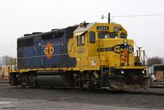 PNWR 2311 (GP39-2) (youngwarrior) Tags: train railroad locomotive emd eugene oregon gp392 pnwr portlandwestern