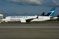 C-GAWS (WestJet - 100th. Boeing 737 NG) (Steelhead 2010) Tags: westjet boeing b737800 b737 yhm creg cgaws