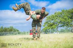 Hip Throw (RiCHCiTyZ) Tags: marine marinecorps unitedstatesmarinecorps unitedstatesmarine semperfi oorah usmc nikon martialarts training photography