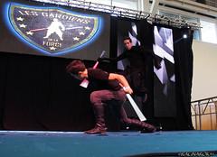 TGSSpringbreak_LesGardiensDeLaForce_012 (Ragnarok31) Tags: tgs springbreak toulouse game show gardiens force jedi star wars obscur art martial combat