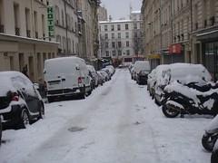 La neige, rue chaudron en janvier 2013 (Les photos du chaudron) Tags: favoris lieu paris