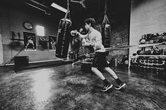 Fuji 1 (elielcervantes) Tags: black white monochromatic box training fighting punch story documental