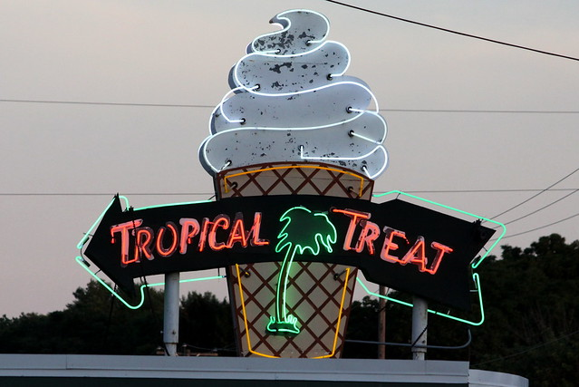 Tropical Treat neon sign - Hanover, PA