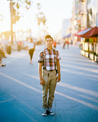 This Dude! (PeterStout) Tags: pentax6x7 pentax105 kodakportra160 portra160pushed1 filmisnotdead outoffocus