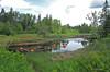 Capteurs de poissons / Fish collecters (1-2) (deplour) Tags: rivière tidnish river reflets reflections pêche fishing flotteurs floaters