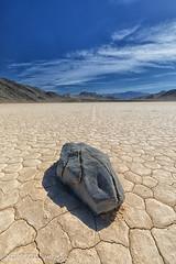 The Moving Rocks on the Playa (taharaja) Tags: cactus california deathvalley desert furnacecreek ghosttown jeeping lowestpoint nationalpark offroad oldtown racetrack sealevel zabriskiepoint lakebed movingstones slatflats
