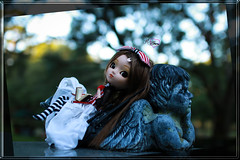 Today And Tomorrow (dreamdust2022) Tags: kenzie sweet cute charming loving adorable tender day dreamer shy innocent young high school girl pullip doll trisquette