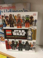 LEGO Star Wars Character Encyclopedia Updated and Expanded (splinky9000) Tags: kingston ontario canada day 2016 7116 bookstore lego star wars character encyclopedia prototype boba fett minifigure