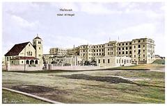 Al Hayat Hotel in Helwan district - Cairo in 1900's (Tulipe Noire) Tags: africa middleeast egypt egyptian cairo helwan district hotel al hayat 1900s