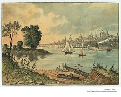 Hudson River at Albany NY  1838 (albany group archive) Tags: 1830s old albany ny vintage photos picture photo photograph history historic historical