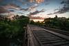 Train Bridges (relux.) Tags: train trainbridge bridge woodbridge minneapolis sunset minnesota twincities urban