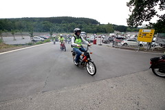 IMG_9355 (Christophe BAY) Tags: mobyltettes francorchamps 2017 rétromobile club spa circuit moto vespa camino flandria