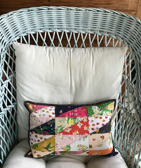 Sleeping Porch Pillow (alidiza) Tags: heatherross sleepingporch hsr patchwork quilt windhamfabrics