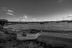 DSC00844 (Damir Govorcin Photography) Tags: boats sand water watsons bay sydney sky clouds natural light wide angle zeiss 1635mm sony a7rii monochrome blackwhite perspective creative composition landscape