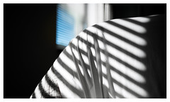 Bedroom window (leo.roos) Tags: jaloezieën blinds luxaflex window raam bedroom slaapkamer sheets lakens shadow schaduw a7rii minoltaaf282 amount darosa leoroos laea3adapter manualfocus
