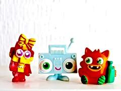 Here to make you smile : o ) (Kez West) Tags: tinytoys smileonsaturday toys funny cute smile happy bright hsos creativetabletop colourful fun