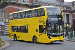 RATP Bournemouth Yellow Buses 203 SN17MTX (Will Swain) Tags: yellow 203 sn17mtx bournemouth 4th may 2017 dorset south ratp régie autonome des transports parisiens bus buses transport travel uk britain vehicle vehicles county country england english