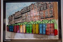 1.167 - Brighton is art (esnalar) Tags: brighton england uk coast seafrontpromenade art drawing watercolor paseomarítimo costa dibujo acuarela