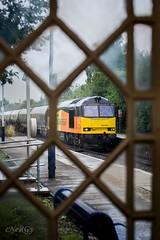 60076 Colwick to Lindsey oil. (deltic17) Tags: tug class60 60076 colas colasrail train oiltrain oil tankers swinderby lincolnshire brush diesel windows rain canon canon5dmk3