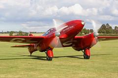 G-ACSS (IanOlder) Tags: dehavlland dh88 comet grosvenor house gacss shuttleworth old warden racer classic macrobertson air race