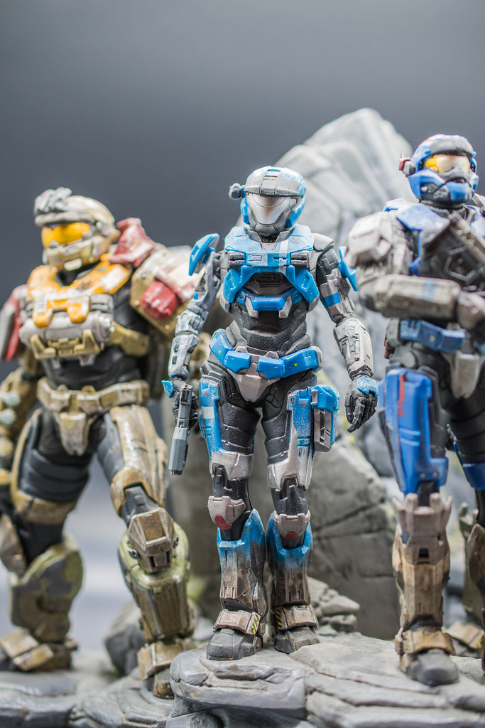 c747da54512185 Halo Reach Legendary Edition Noble Team Statue Figures (BoomShakalaka86)  Tags: stillleben nikon 40mm