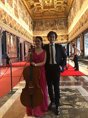 I Concerti del Quirinale, Duo con Ludovica Rana (May 2017)