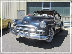 Chevrolet Fleetline DeLuxe 2door Sedan, 1949 (v8dub) Tags: chevrolet fleetline de luxe 2 door sedan 1949 schweiz suisse switzerland bleienbach american gm pkw voiture car wagen worldcars auto automobile automotive old oldtimer oldcar klassik classic collector