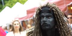 I met a devil and wasn't afraid (pe_ha45) Tags: devil diable teufel provins mittelalterfest fêtemédiéval medievalfestival 2017