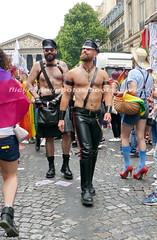 """bootsservice 17 1600679 (bootsservice) Tags: paris """"gay pride"""" """"marche des fiertés"""" bottes cuir boots leather sm motards motos motorcyclists motorbiker caoutchouc rubber uniforme uniform"""