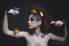 _M3_9723### (FrankCroft) Tags: albacete fashion portrait retrato mariposas butterflies redhead pelirroja frankcroft webmoda