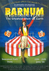 The Greatest Show On Earth (streamer020nl) Tags: barnum show flyer leaflet redruth cornwall