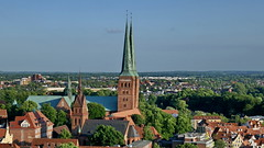 20170604 Lübeck Vogelperspektive (167) (j.ardin) Tags: deutschland germany allemagne alemania schleswigholstein hansestadtlübeck vogelperspektive birdseye zlotuptaka