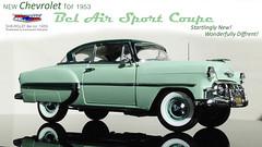 Chevrolet BelAir 1953-01 (Aeronautic Pictures) Tags: 118 1950 1953 sunstar sun star modelcar coupe car chevrolet landyacht bel air belair 6 cyl