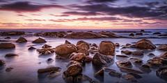 Smooth Pool Sunset (David Dahlenburg) Tags: streakybay streaky smoothpool eyre southaustralia sa sea seascape sunset australia dahlenburg wwwdaviddahlenburgcom landscape longexposure