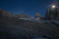 expo-8304 (ernst.scherr) Tags: adamekhütte gosau dachstein salzkammergut gletscher schnee natur mondaufgang mondlicht sonnenuntergang alpen pflanzen
