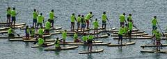 Before the start (Wider World) Tags: england dorset swanage sea people standuppaddleboarding naishinternationalsupclassorganization