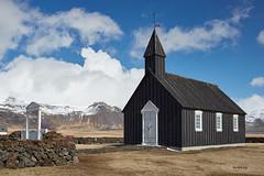 Búðir Church (bjarkihalldors) Tags: canoneos5dmarkiii canonef2470mmf28l ísland iceland búðir wedding brúðkaup búðakirkja