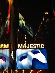 The Phantom of the Opera at the Majestic Theatre (katyreccophotography) Tags: manhattan newyorkcity theatredistrict thephantomoftheopera phantomoftheopera andrewlloydwebber majestictheatre