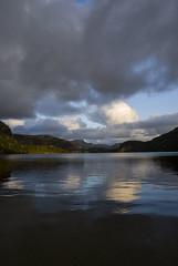 Preikestolen - Norway (wietsej) Tags: preikestolen norway sony sonydslra100 a100 lake sunset tamronspaf1750mmf28xrdiiildaspif 1750 clouds