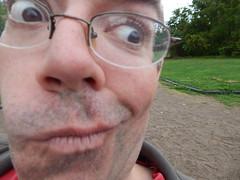 (mestes76) Tags: 091716 duluth minnesota zoos lakesuperiorzoo ibelievejocelyntookthis mark me closeup swings playground