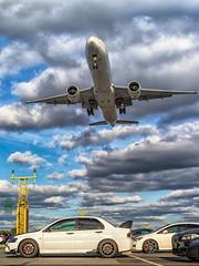 Saudi B777 (Green 14 Pictures) Tags: aviation avporn avgeek airport aircraft airplane airline air airlines airfield airways saudi saudia boeing boeing777 777 777300er 77w hzak18 lhr london londonheathrow heathrow heathrowairport egll uk unitedkingdom gb greatbritain mitsubishi lancer evolution misubishilancer lancerevo mitsubishilancerevo evo mitsubishilancerevolution sv sva