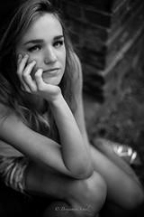 Portrait (benjaminschulz) Tags: fashion face church potsdam park sommer summer lightroom 18 50mm d610 nikon travelgram travel sanssouci girl blackandwhite portrait