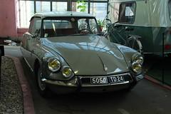 Citroen DS (John Morrissette) Tags: museum retro cars moscow russia gaz zil alfa panard citroen lancia matchless isetta soviet